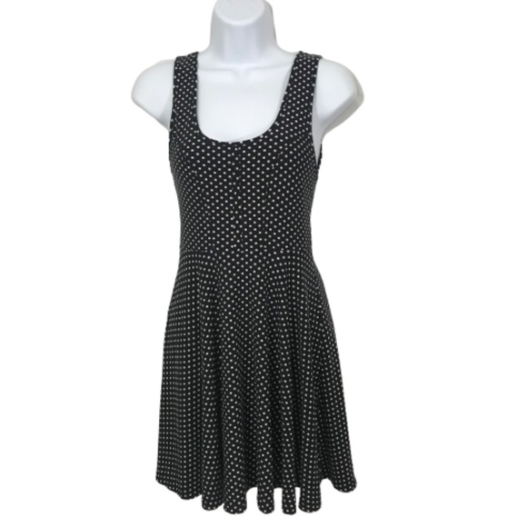 Free People Dresses & Skirts - FREE PEOPLE XS BLACK AND WHITE SKATER DRESS